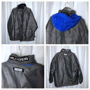 Tommy Hilfiger Ski Coat Metallic Men's Medium